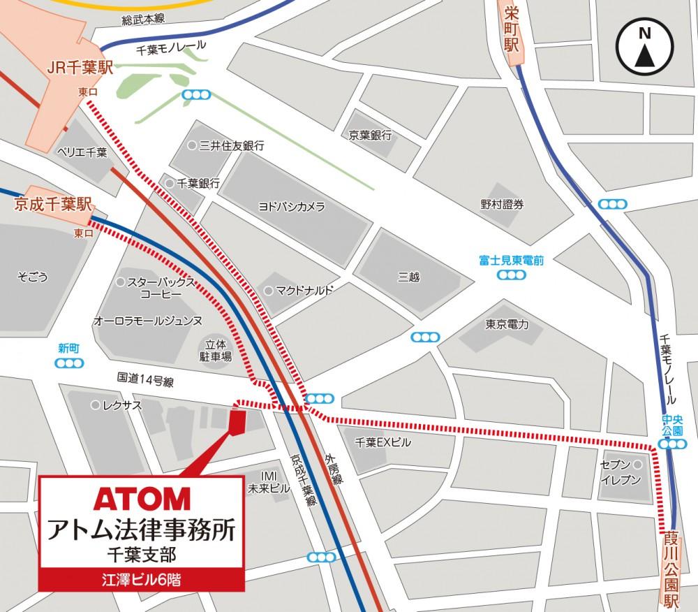 千葉市マップ